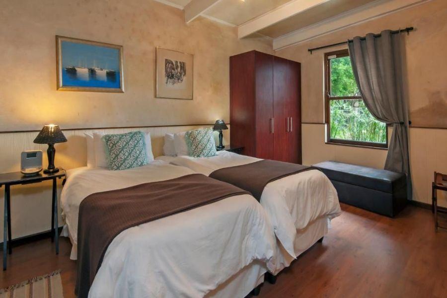 Aloe Guest House Hermanus Zuid Afrika slaapkamer
