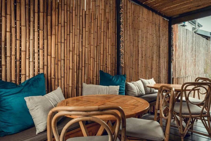 Antrim Villa Kaapstad Zuid Afrika zithoek buiten