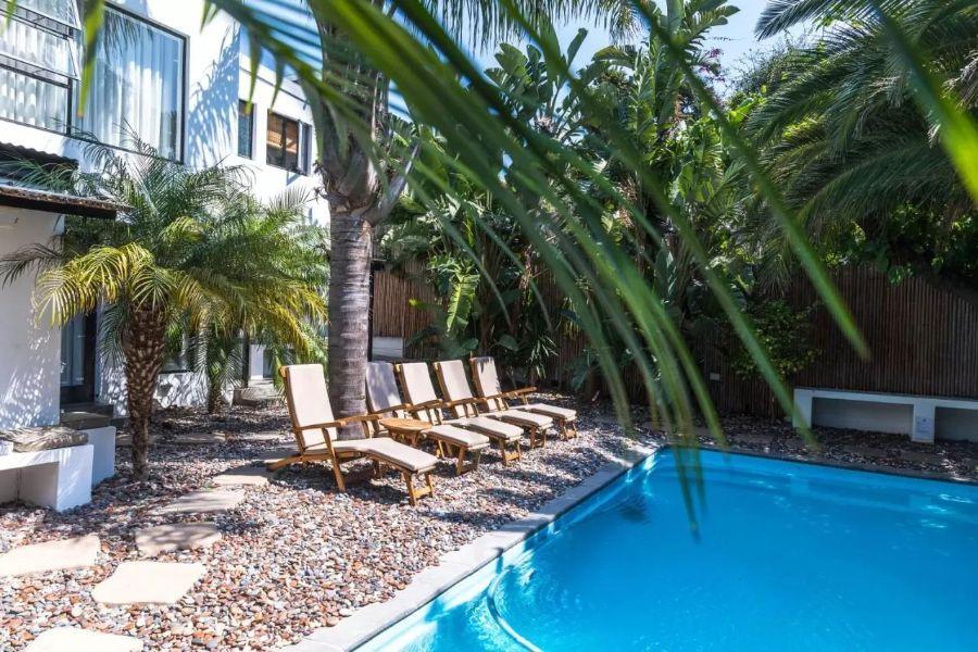 Antrim Villa Kaapstad Zuid Afrika zwembad