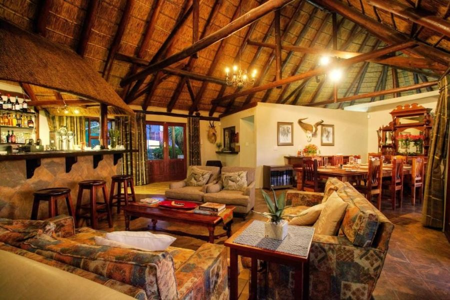 Bellevue Forest Reserve Paterson Zuid Afrika eetzaal