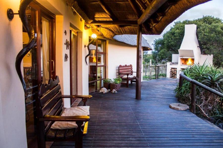Bellevue Forest Reserve Paterson Zuid Afrika patio