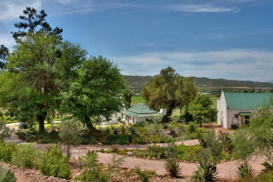 Berluda Farmhouse Cottages Oudtshoorn Zuid Afrika cottages