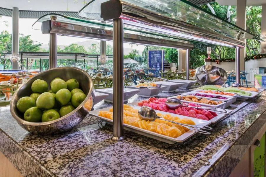Cabanas Sun City Zuid-Afrika restaurant