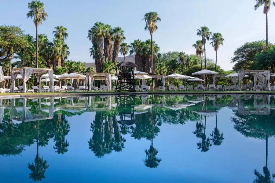 Cabanas Sun City Zuid-Afrika zwembad