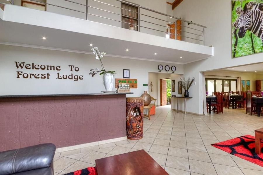 Forest Lodge St. Lucia Zuid Afrika lobby
