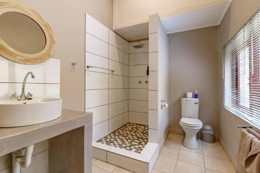Gecko Lodge Hazyview Zuid Afrika badkamer