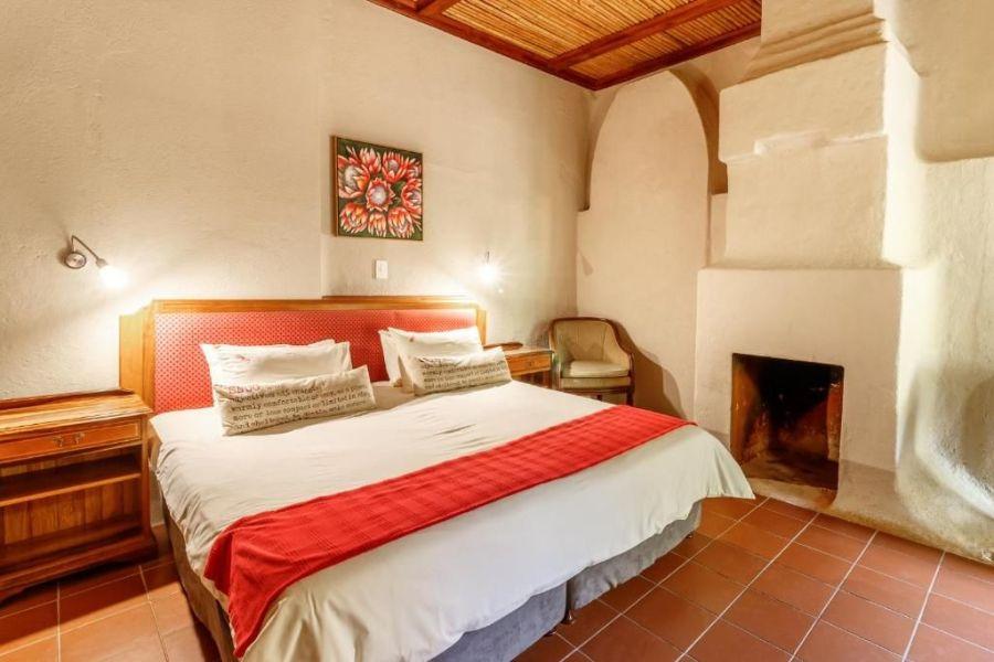 Gecko Lodge Hazyview Zuid Afrika slaapkamer