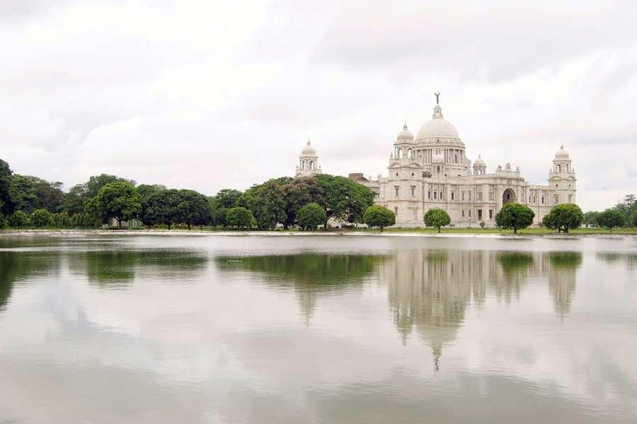 India Kolkata Calcutta Victoria paleis