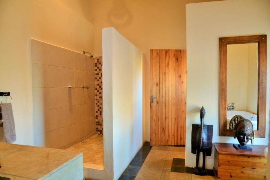 Kololo Game Reserve Zuid-Afrika badkamer