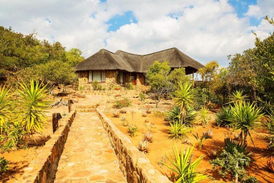 Kololo Game Reserve Zuid-Afrika chalet