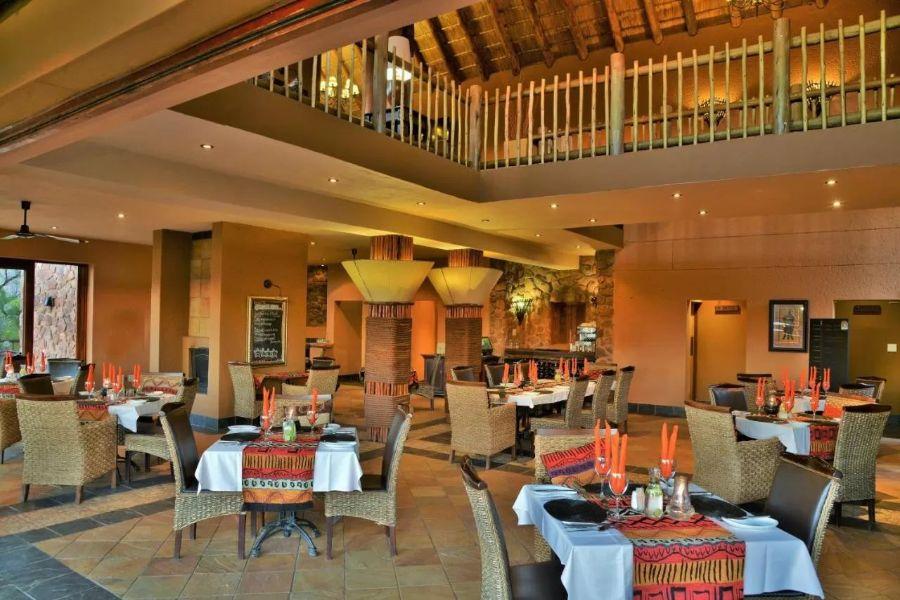 Kololo Game Reserve Zuid-Afrika restaurant