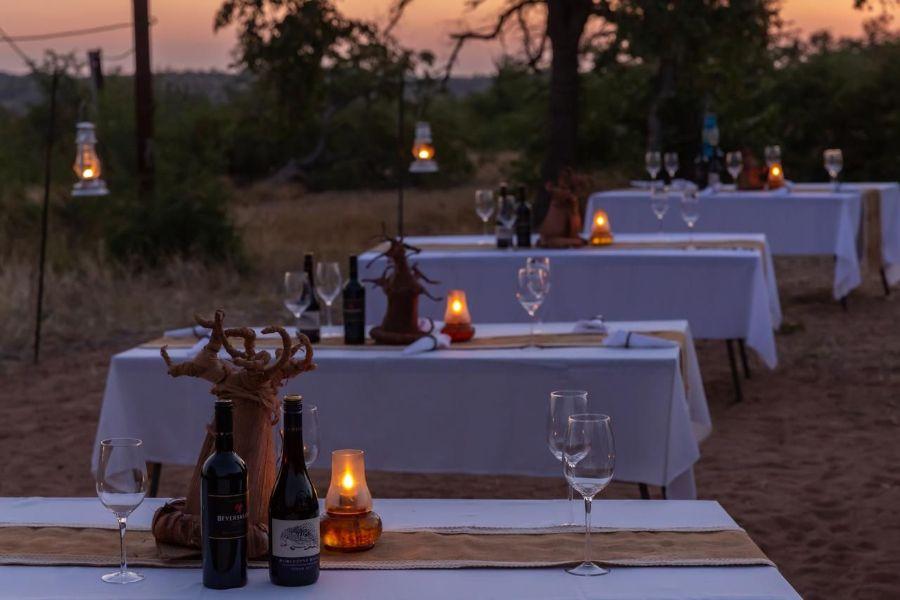 Mopane Bush Lodge Zuid-Afrika