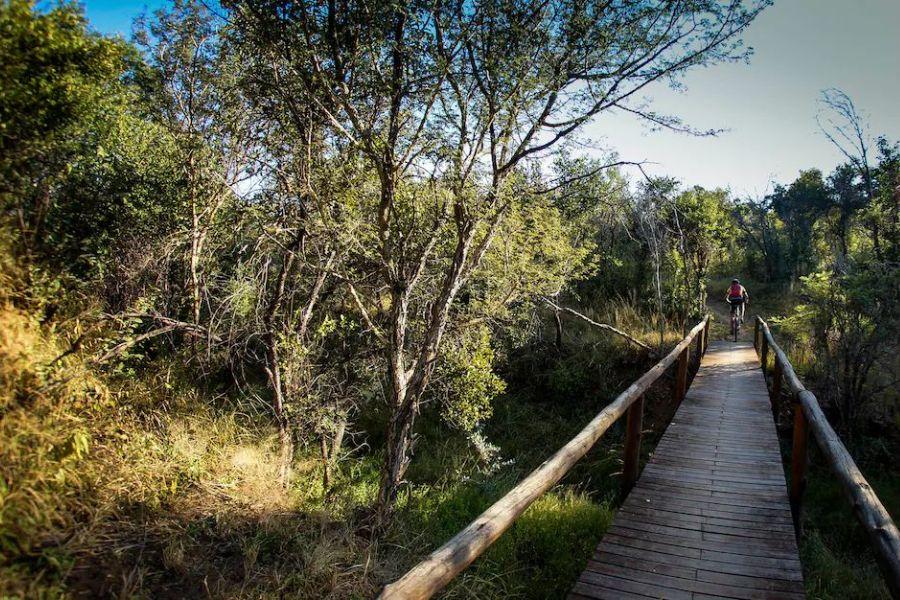 Nthubu Camp wandel en fietspad