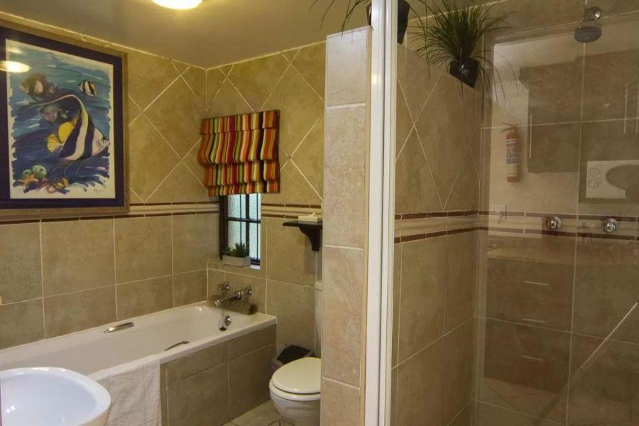 Zeranka Lodge Umhlanga Zuid Afrika badkamer