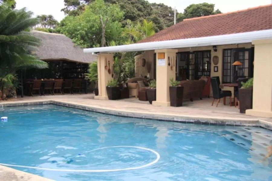 Zeranka Lodge Umhlanga Zuid Afrika zwembad