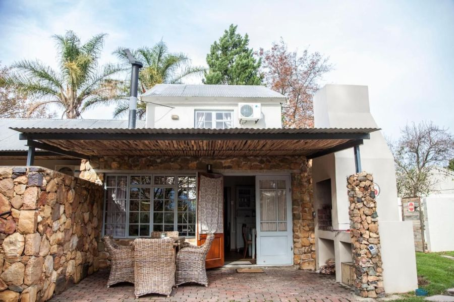 Bergsicht Country Farm & Cottages Tulbagh Zuid-Afrika buitenaanzicht cottage
