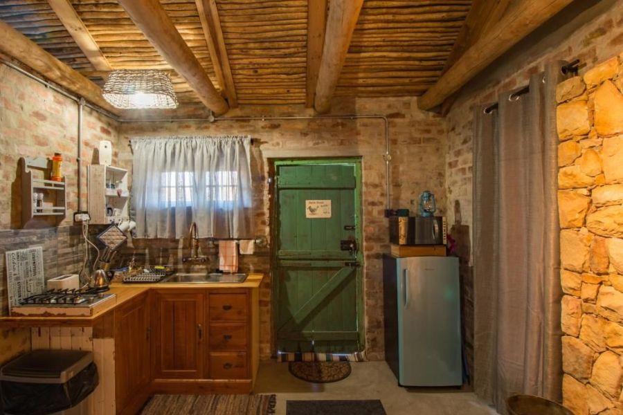 Bergsicht Country Farm & Cottages Tulbagh Zuid-Afrika keuken