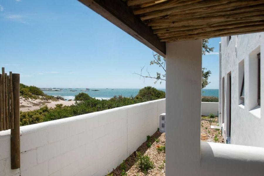 Gonana Guest House Paternorster Zuid-Afrika zee uitzicht vanaf kamer