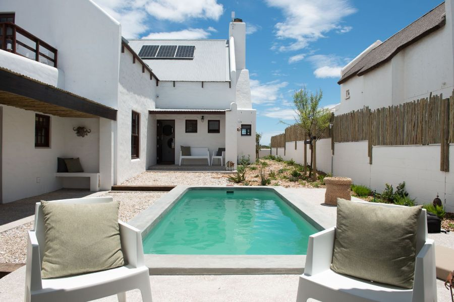 Gonana Guest House Paternorster Zuid-Afrika zwembad