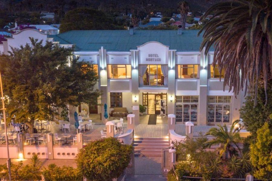 Montagu Country Hotel Montagu Zuid-Afrika vooraanzicht
