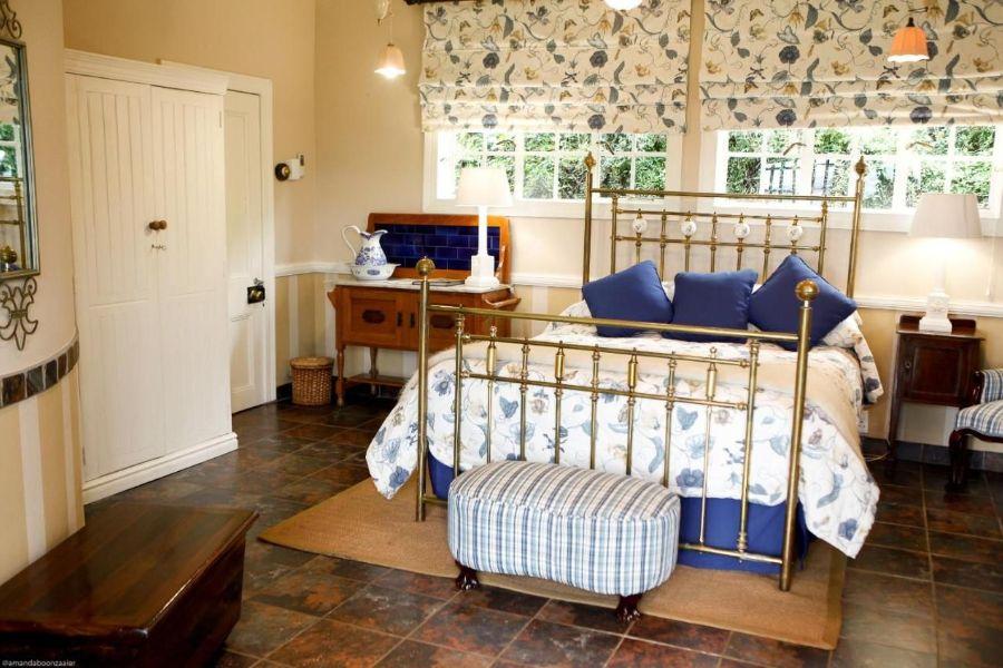 Reilly's Rock Hilltop Lodge Mlilwane Wildlife Sanctuary Zuid-Afrika slaapkamer