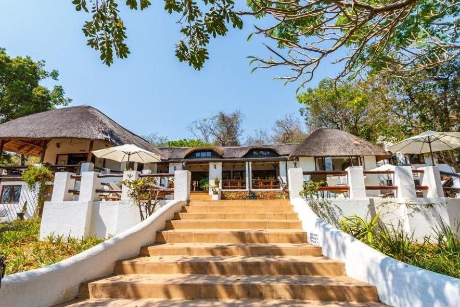 Rissington Inn Hazyview Zuid-Afrika vooraanzicht