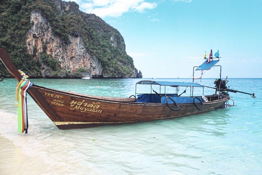 Thailand Koh Phi Phi Longtailboot