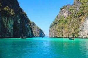 Blog artikel1 'De prachtige Phi Phi eilanden in Thailand'