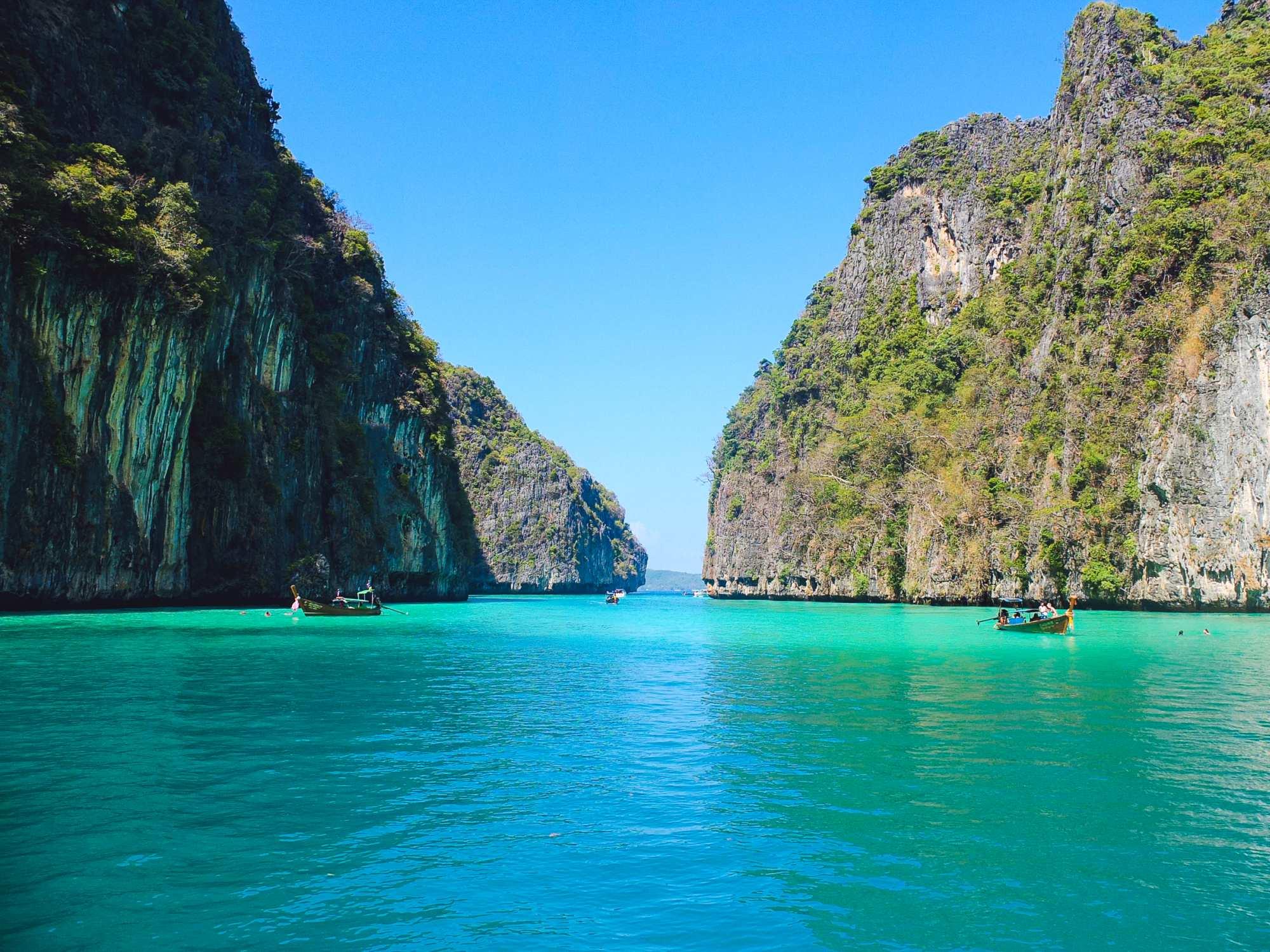 Gerelateerd blog artikel De prachtige Phi Phi eilanden in Thailand