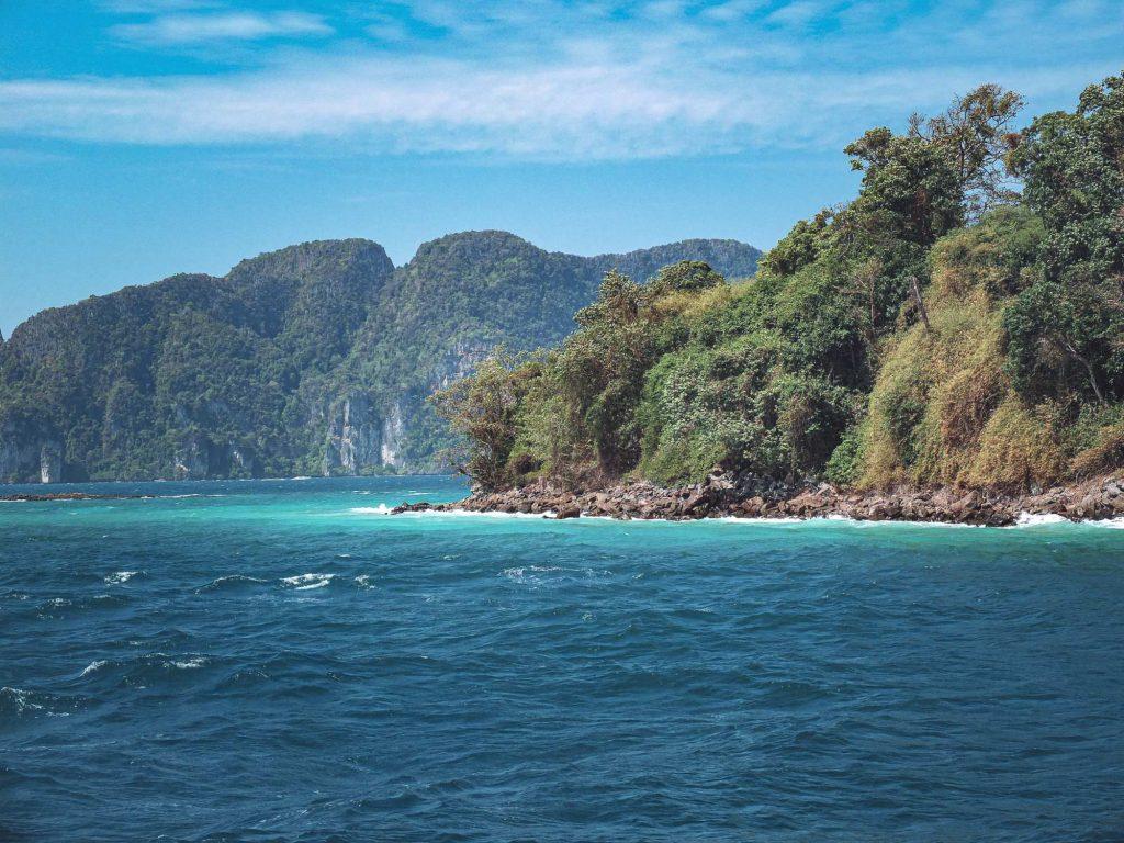 Thailand Koh Phi Phi Maya Bay water