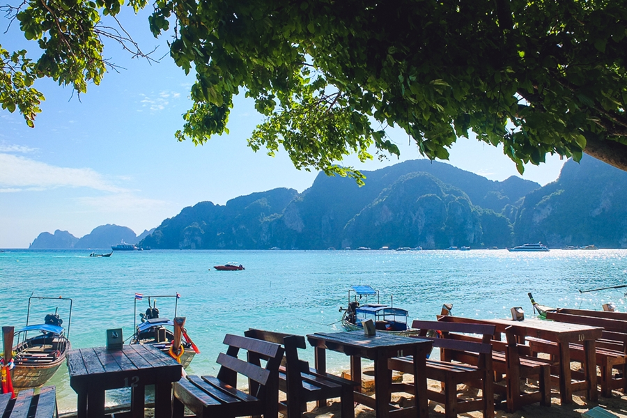 Thailand Koh Phi Phi Terras