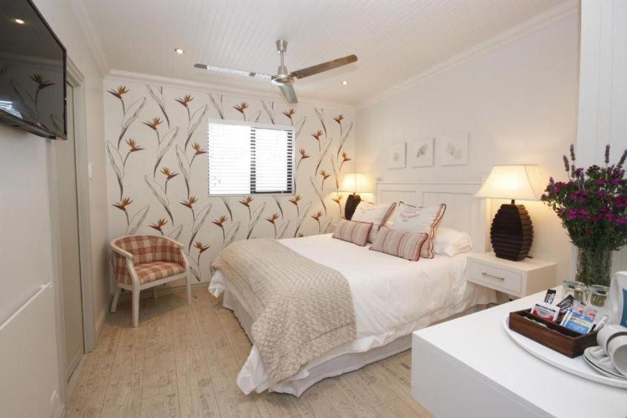 The Potting Shed Accommodation Hermanus Zuid-Afrika slaapkamer